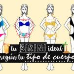 ¿Cómo Escoger tu Bikini Ideal según tu Tipo de Cuerpo?